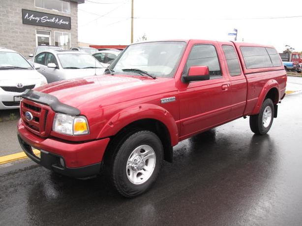2007 Ford Ranger Sport,Five speed,AC,PW,136,000K