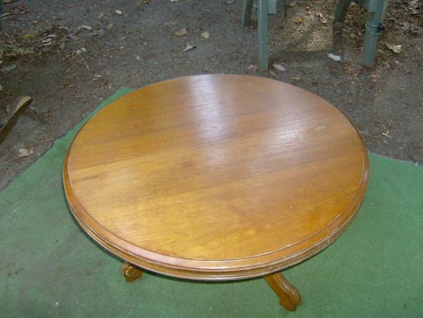 "32"" Round Antique Coffee Table"