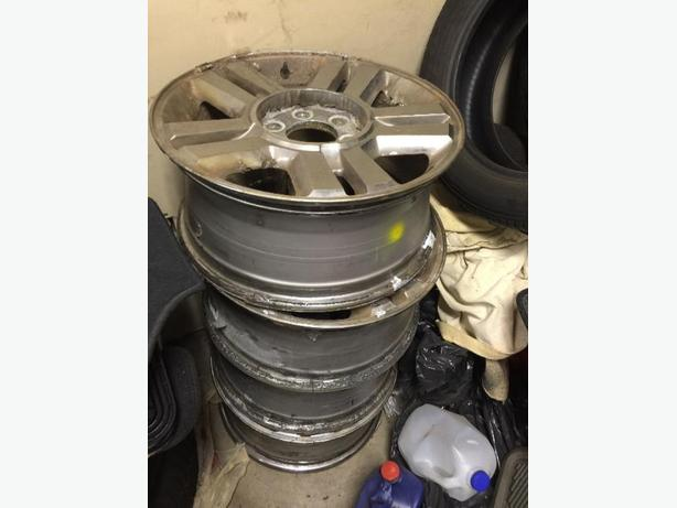 4 Ford F-150 Rims for winter
