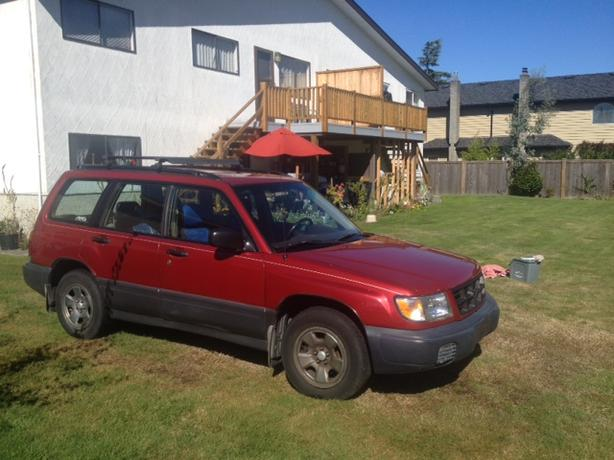 1999 subaru forester awd wagon