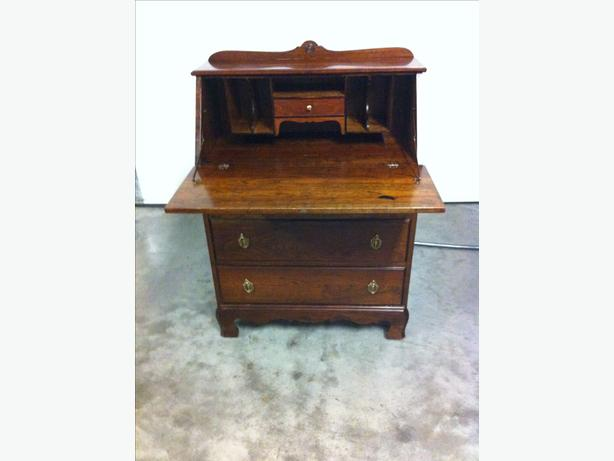 Vintage Secretary Writing Desk