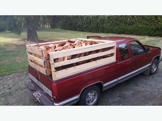 Firewood:  Truckload of Cedar Mill Ends