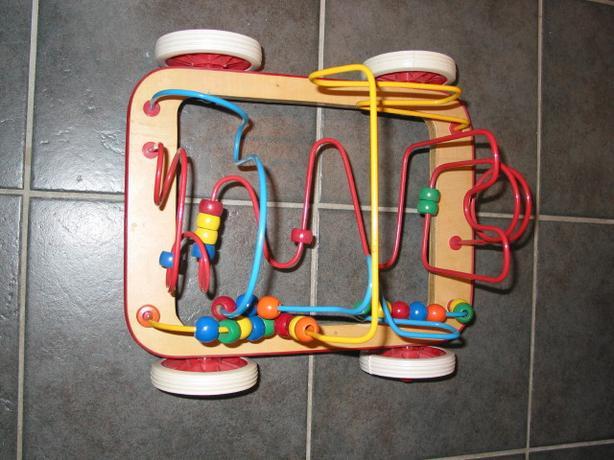 Bead Maze Car