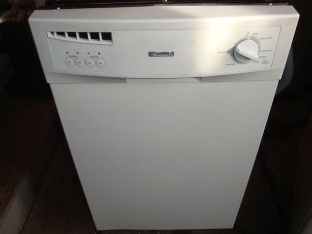 "Kenmore 18"" apartment size built in dishwasher"