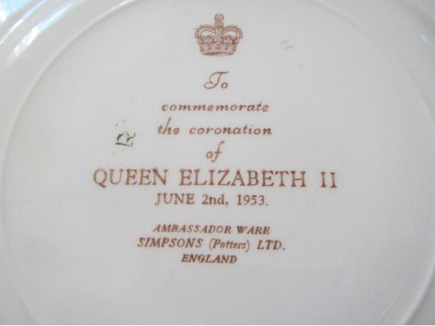 China collector plate