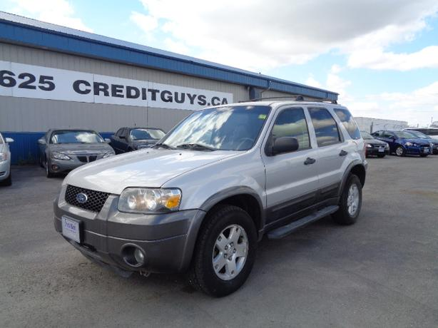 2006 Ford Escape XLT AWD #1921 INDOOR AUTO SALES WINNIPEG