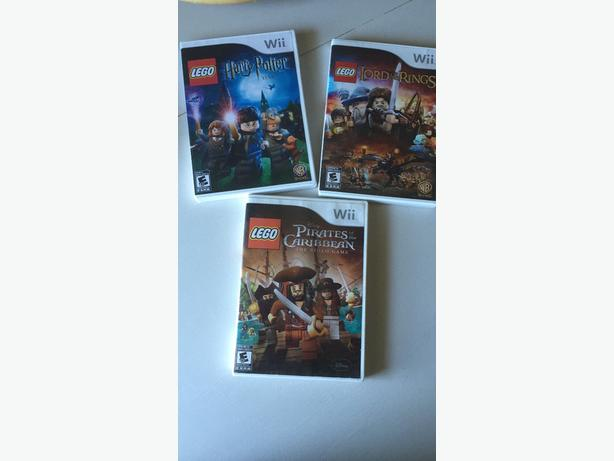 wii lego games