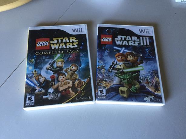 wii lego starwars games
