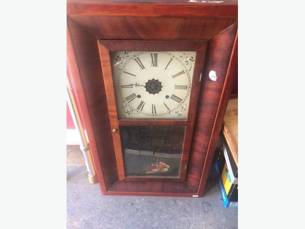 old clock from 1880 s