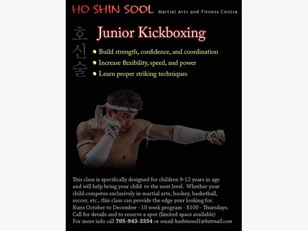 JUNIOR KICKBOXING 9-12 yrs