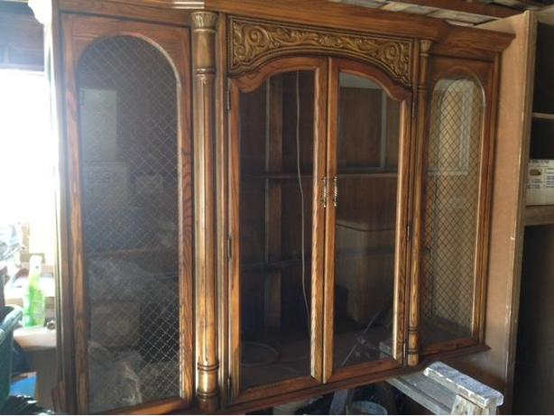 Dinning room or living room hutch cabinet north saanich for Living room hutch