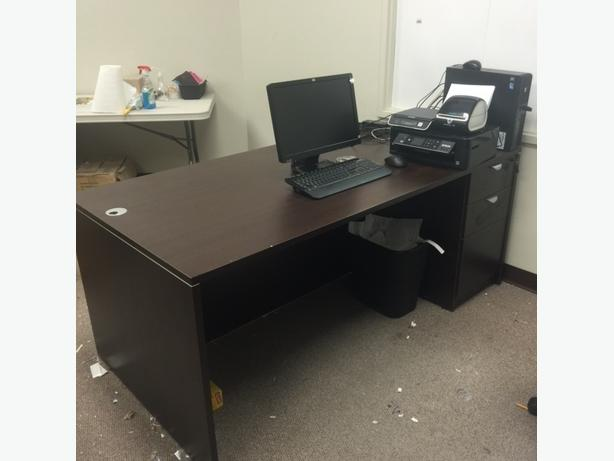 """66x30"""" Desk with Drawers"""