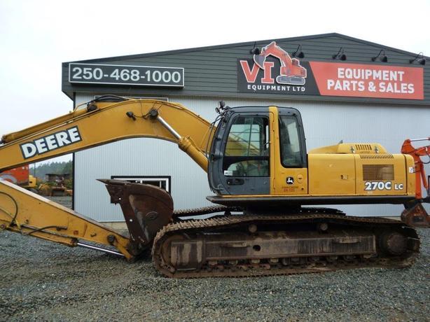 John Deere 270C LC Excavator Parts
