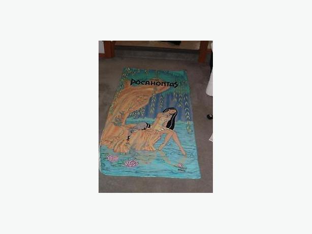 Pocahontas  towel , new ,