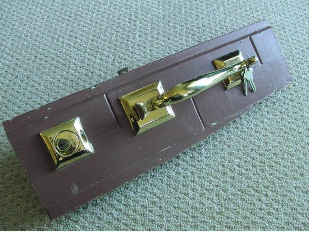 Baldwin Brass Entrance Set