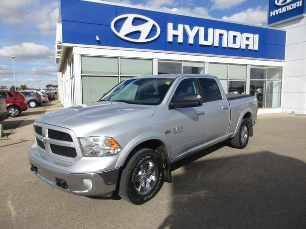 2014 ram 1500 slt outdoorsman crew cab 4wd yorkton regina. Black Bedroom Furniture Sets. Home Design Ideas