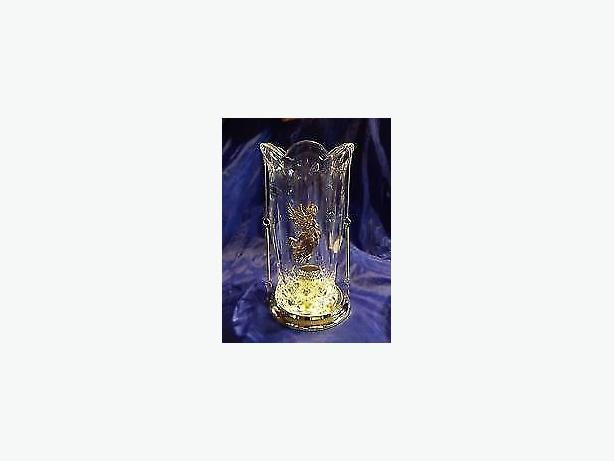 candle holders, Two teleflora lead crystal 24%, no offers
