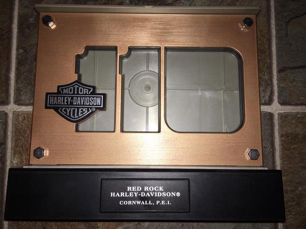 Special Harley Davidson Picture Frame