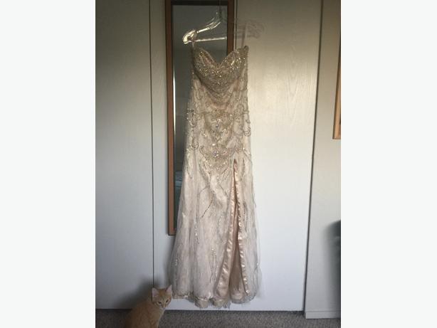 Grad Wedding Dress Saanich Victoria