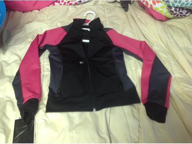 Nanaimo gymnastic jacket it says size 3