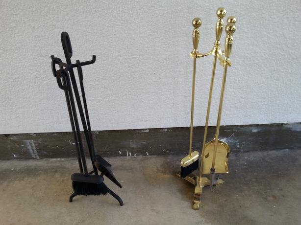 wrought iron tools