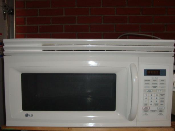 LG Microwave range hood