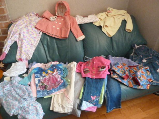 Beautiful Girls size 24M/2 Fall/Winter wardrobe