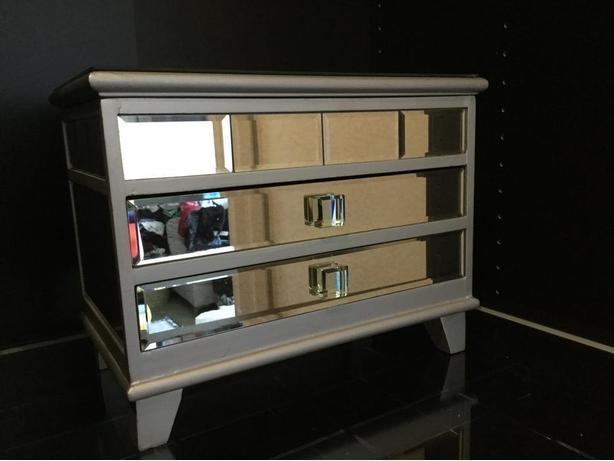 Quality Mirrored Jewellery Box