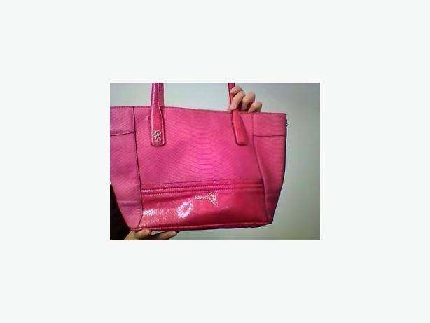 Gently used pink guess purse
