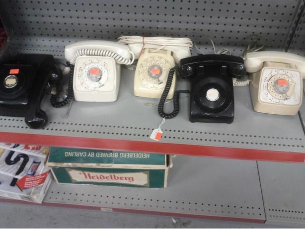Various Rotoray Phones