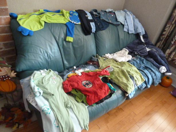 Boy's 12 Months high quality Fall/Winter wardrobe