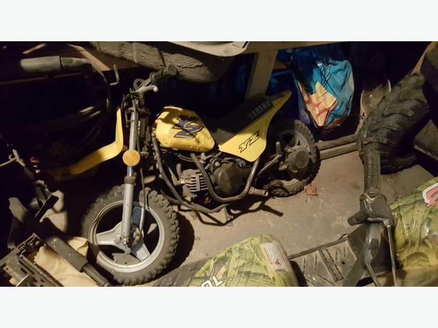 Yamaha 50 cc Dirtbike
