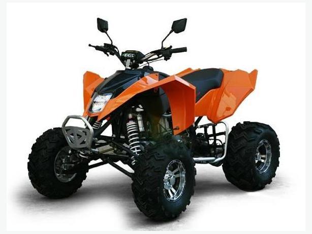 GIO 'BLAZER' 250cc SPORT STYLE ATV WITH FREE DOT HELMET