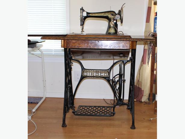 1911 treadle sewing machine