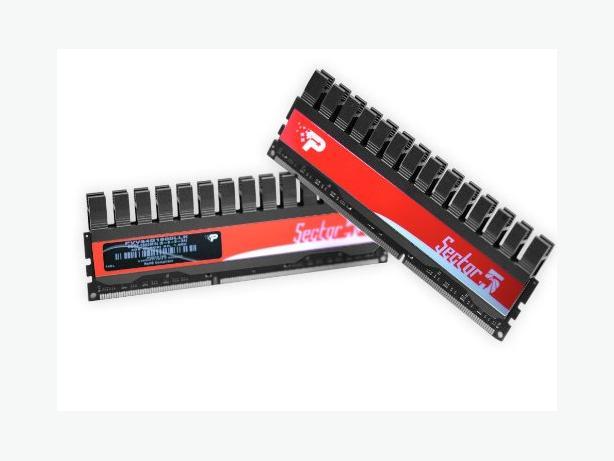 """Patriot """"Sector 5"""" RAM 2x2GB DDR3"""