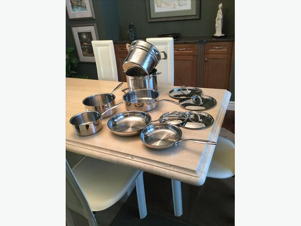 Cuisinart Stainless Steel Pots and Pans