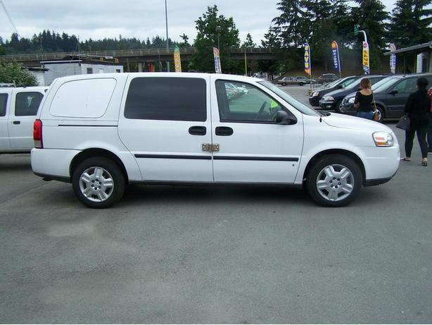 2007 Chevrolet Uplander Cargo Van, 166,000 Km.