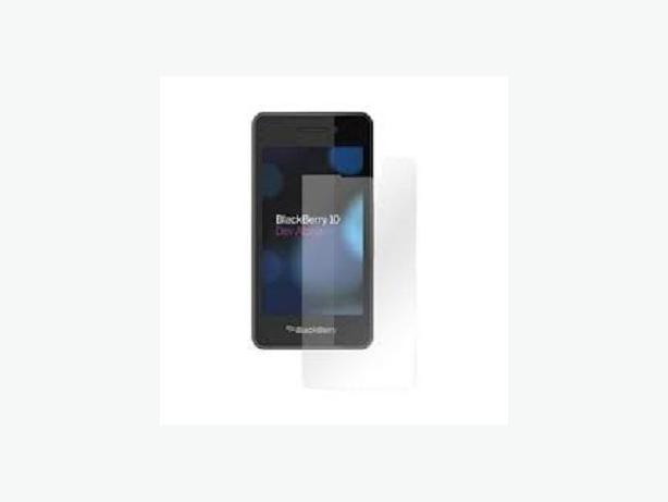 Anti-Scratch Screen Protector+cloth BlackBerry Z10(retail store)
