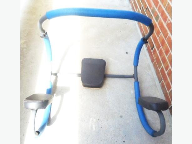 Official Ab Trimmer/Roller With Headrest