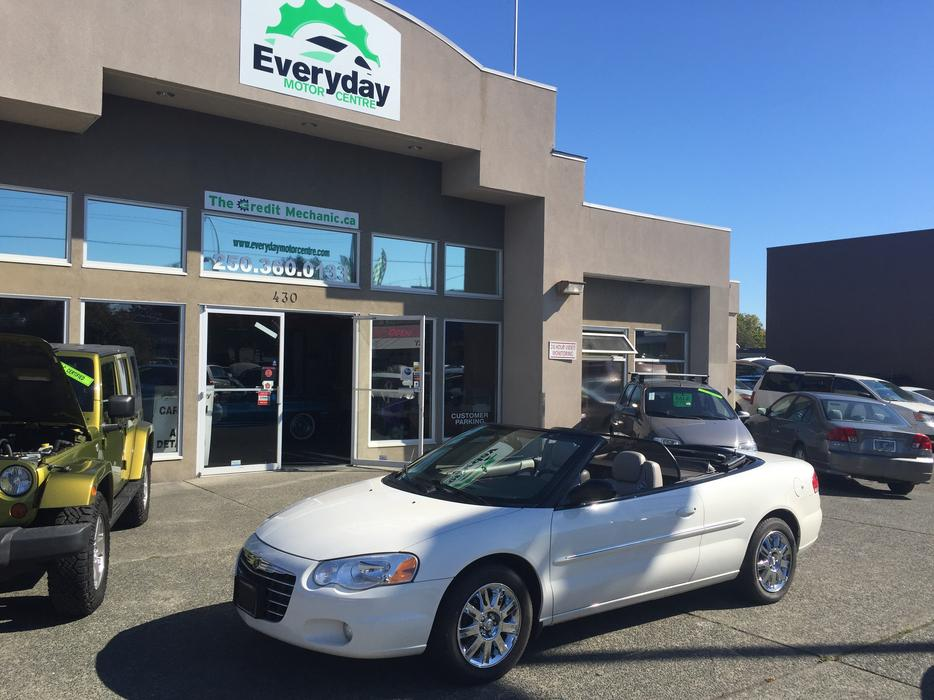 2004 chrysler sebring convertible limited outside comox for West valley motor vehicle