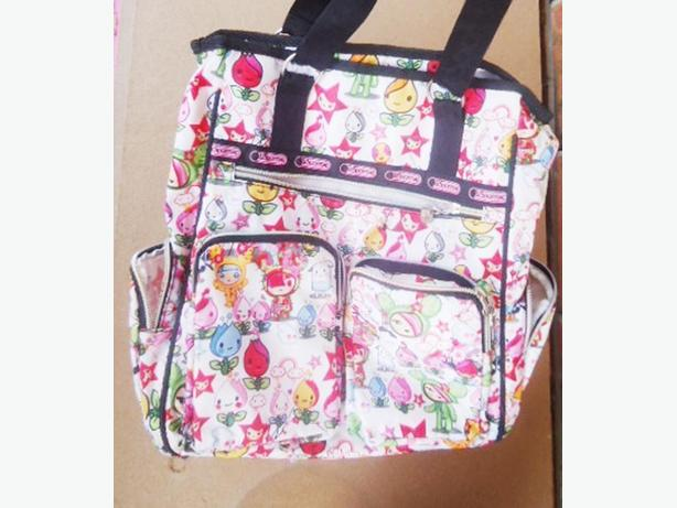 Tokidoki LeSportsac Tote (can be used as diaper bag) - Like New