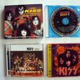KISS collection of CD, DVD, Cassette and VHF