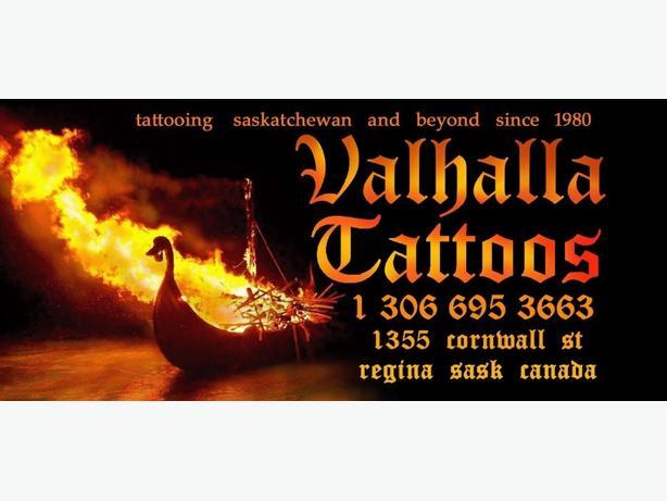 Rj @ Valhalla Tattoos 36 Yrs.Experience