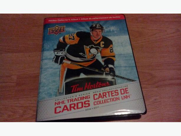 2016-17 Tim Hortons Hockey card MASTER SET all 175 cards in Tims Album