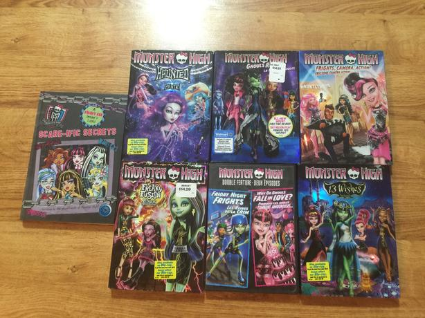 Monster High DVD and book