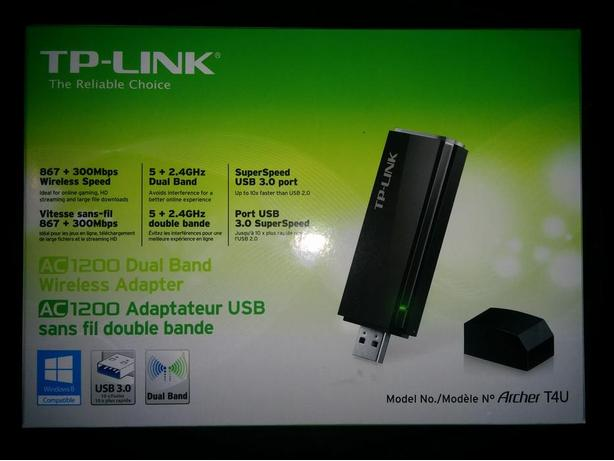 TP-LINK Archer T4U AC1200 USB wireless wifi adapter