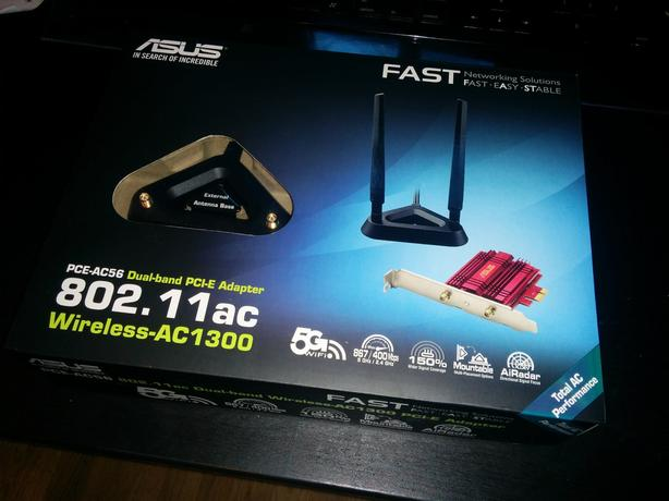 ASUS PCE-AC56 dual-band PCI-E wireless wifi adapter