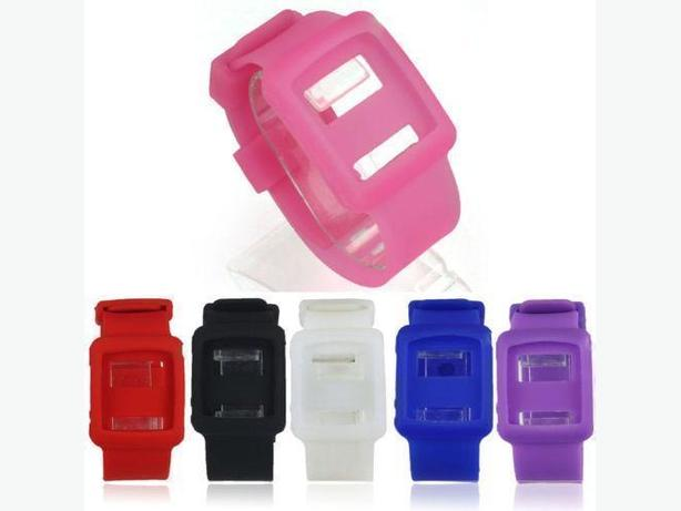 Silicone Watch Wrist Band Case for iPod Nano 6