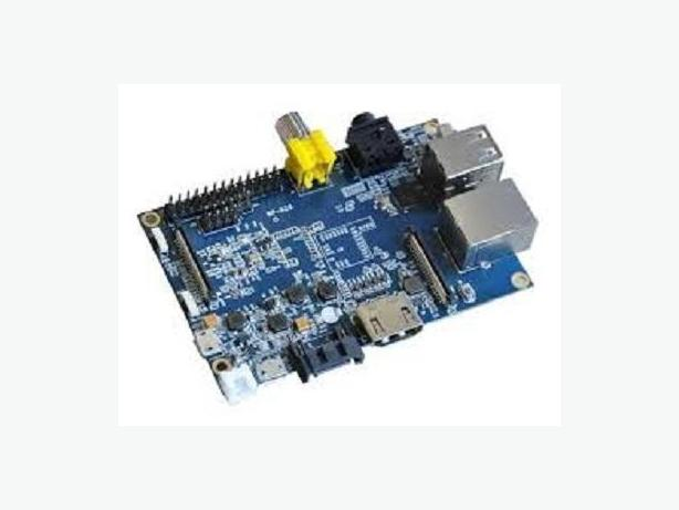 Banana Pi SBC (1G RAM, 1000M Ethernet, A20 Dual Core CPU, SATA)
