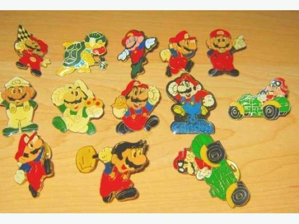 Vintage Video Game Pins - Nintnedo - Mario